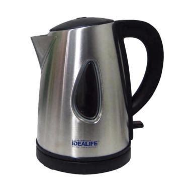 Kettle Listrik Stainles jual idealife il 115 s stainless electric kettle 1 liter harga kualitas terjamin