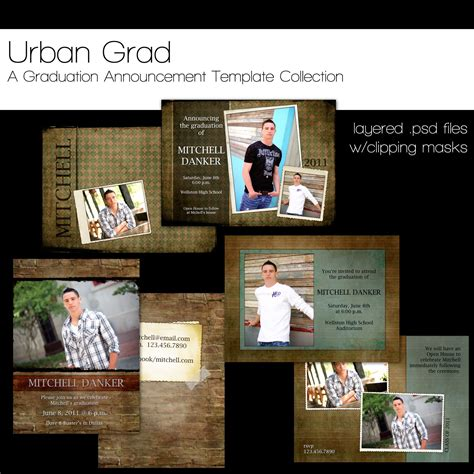 free senior templates for photoshop 11 senior announcement photoshop templates images free