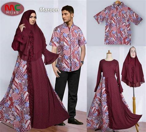 Bf 01 Baju Kerja Muslimah Panjang baju lebaran batik 2018 muslimah gamissyari net