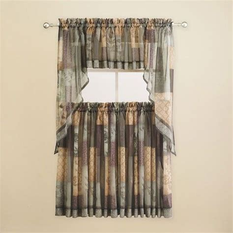 Eden Sage Kitchen Curtains 18 00 Bed Bath Curtains