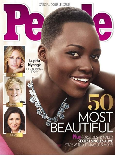 beautiful magazine womenstyles lupita nyong o named most beautiful by