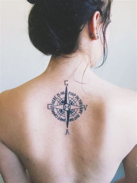compass tattoo with family initials meaning 15 best tat images on pinterest inspiration tattoos