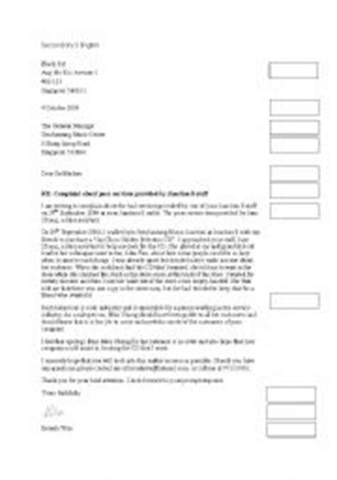 Formal Letter Igcse Teaching Worksheets Formal Letters