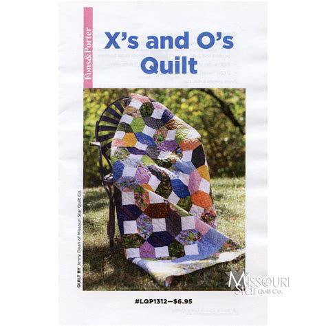quilt pattern x and o x s and o s quilt pattern fons porter missouri star
