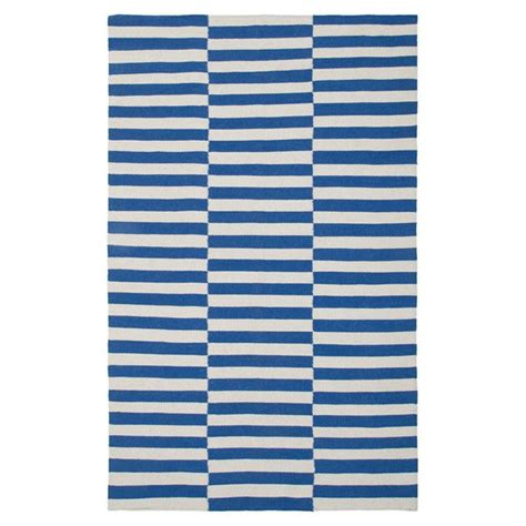 blue white striped rug blue and white stripe rug intriguing interiors