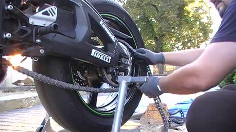 motosiklet zinciri nasil degistirilir youtube