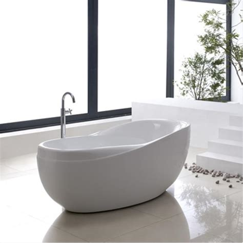 free standing bathtubs bt103 freestanding bathtub bacera