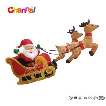 where to buy a sled and reindeer for the roof of your house 210cm santa with sleigh reindeer flying santa sleigh buy