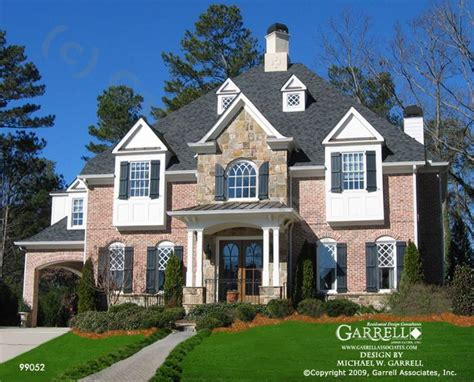 European House Plans With Photos garrell associates inc glennside house plan 99052