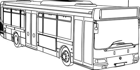 coloring page for bus renault agora ratp bus coloring page wecoloringpage