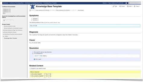 confluence template offer subscriptions rss and e mail images frompo