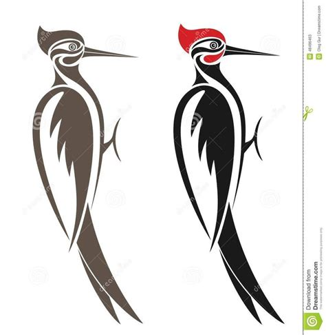 woodpecker tattoo designs http thumbs dreamstime z woodpecker vector