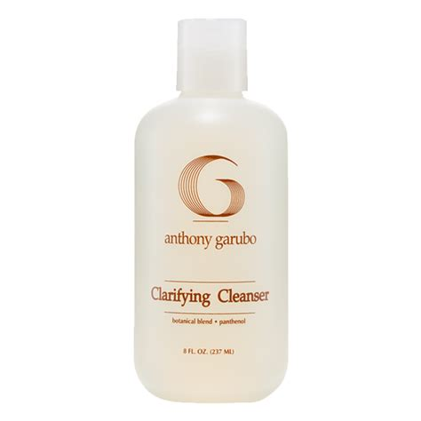 clarifying shoo to remove color clarifying cleanser anthony garubo salon