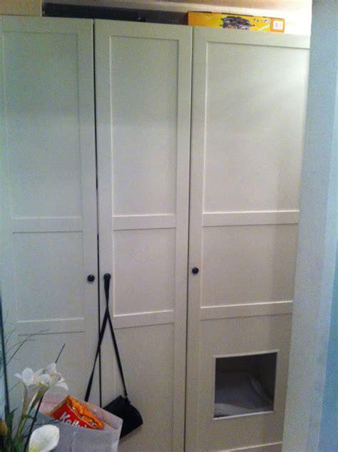 Litter Box In Closet by Closet Litter Box Hack Hackers