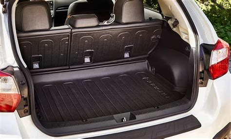 subaru crosstrek interior trunk 2017 subaru crosstrek cargo space crosstrek storage room