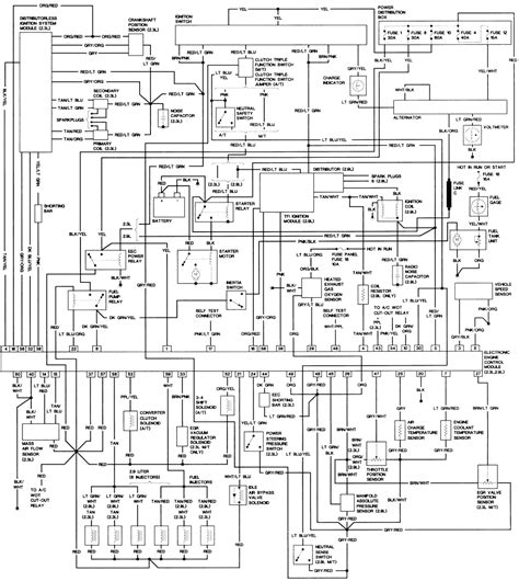 wiring diagram ford ranger 2005 circuit and schematics