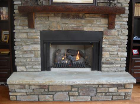 Fireplace With Corbels Stonedictionary Living Masonry