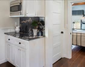 Best Kitchen Colors With White Cabinets Historic Cottage In California Home Bunch Interior