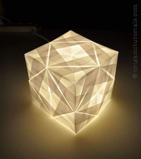 Paper Folding Designs Tutorial - sonobe cube l tutorial origami tutorials origami