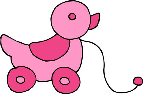 pink toy pink toy clipart