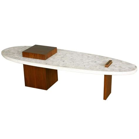Surfboard Furniture by Terrazzo Quot Surfboard Quot Coffee Table By Harvey Probber
