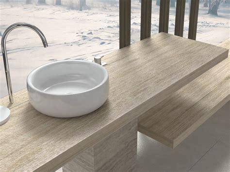 mensola per lavabo mensola per lavabo in legno su misura in diverse finiture