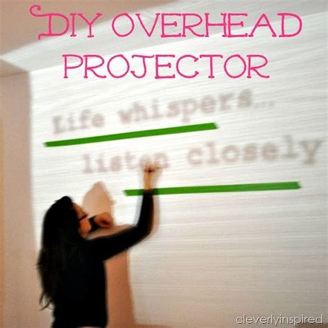 diy projector diy overhead projector how to paint an image on the wall