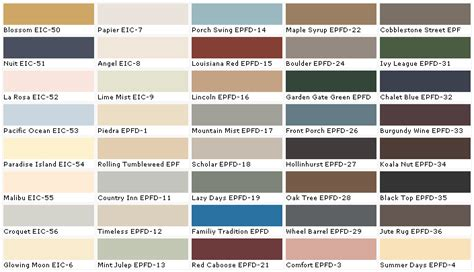 home depot colors of paint home depot paint colors chart home painting ideas