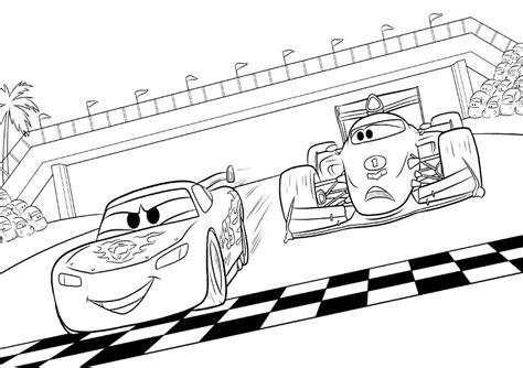 dibujos para pintar rayo mcqueen dibujos de cars para colorear e imprimir gratis