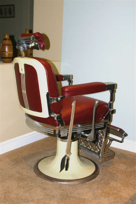 Antique Barber Chairs by Chairs