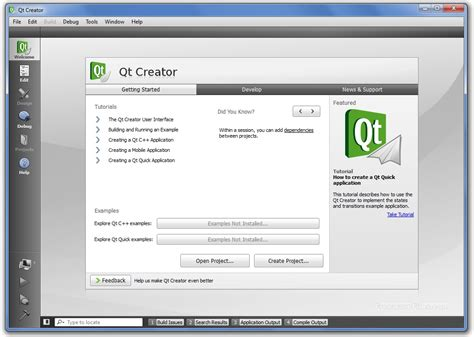 programming in qt creator qt creator 4 6 0 free download freewarefiles com