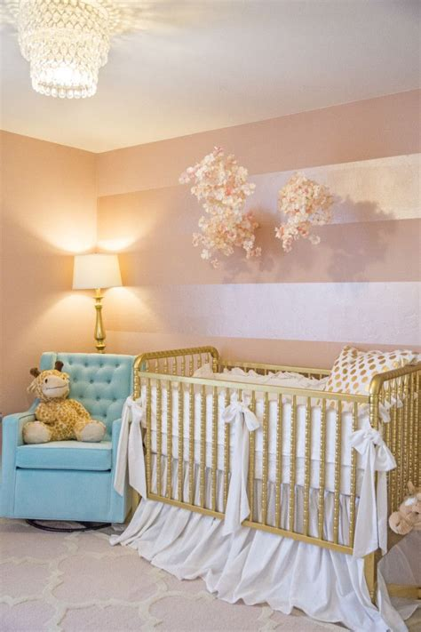 Gold and Pink Nursery
