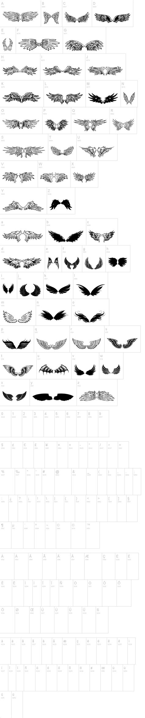 tattoo fonts dafont wings of wind tfb font dafont tipos