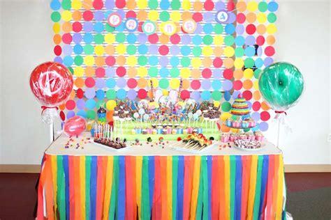 candyland themed decorations candyland land birthday ideas photo