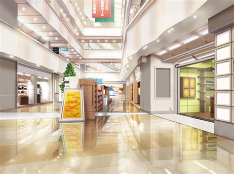 anime id store 82 anime mall background building anime background