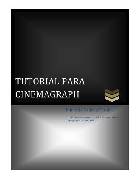 tutorial cinemagraph tutorial para cinemagraph