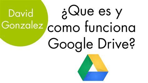 q es pattern en español tutorial espa 241 ol 191 que es y como funciona google drive
