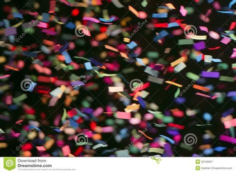 colorful streamers  black background royalty  stock