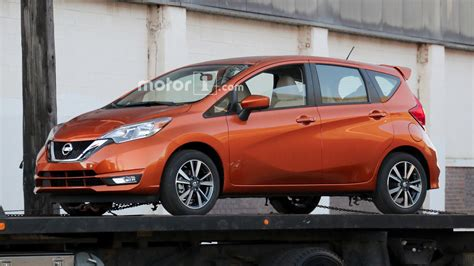 nissan note 2017 2017 nissan versa note spied undisguised with updated look
