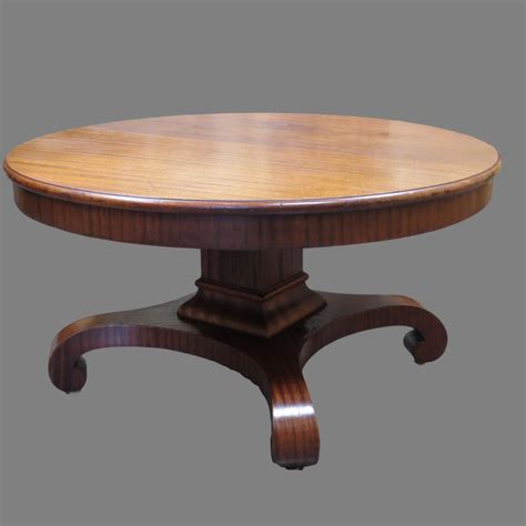 Pedestal For Table Antique Round Oak Pedestal Table Buethe Org