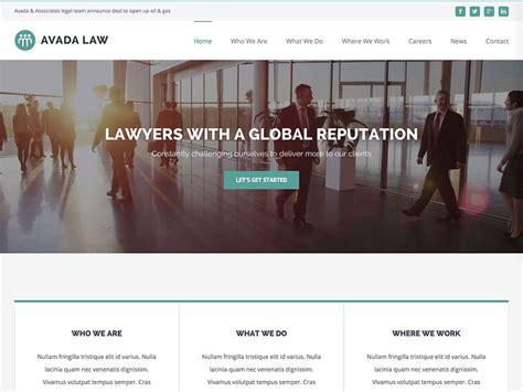 Avada Theme Law | 33 best lawyer wordpress themes 2016 athemes