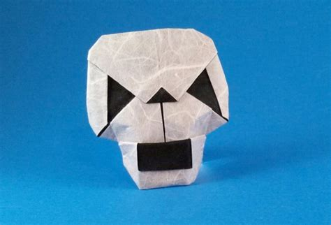 Origami Skull - origami skulls and skeletons page 1 of 2 gilad s