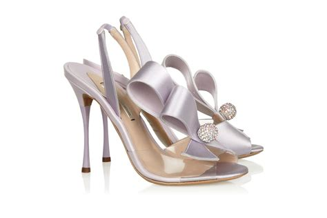 Wedding Shoes With Bows by Lavender Satin Wedding Shoes With Bows Onewed