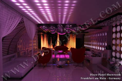 Nightclub Ceiling by Ceiling Panel Disco Designer Led Panels Dmx Controllable