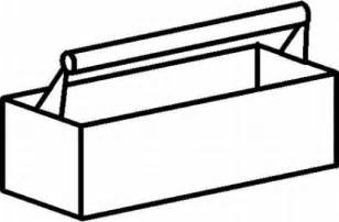tool box coloring page coloring pages - Tools Coloring Pages Screwdriver