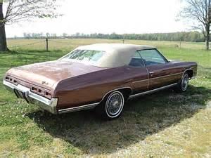 1971 Chevrolet Caprice For Sale 1971 Chevrolet Impala Convertible For Sale Creston Ohio