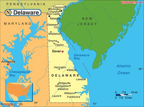 city map of delaware delaware political map