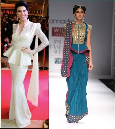 new saree draping styles latest saree draping styles make a trend