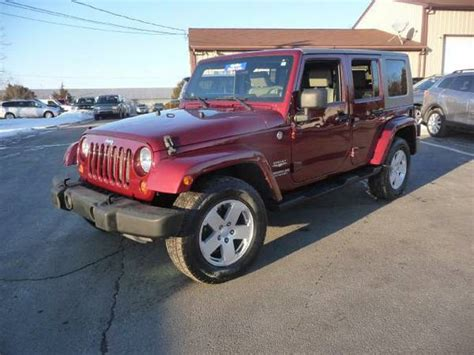 Jeep For Sale Nj 2007 Jeep Wrangler Unlimited For Sale In New Jersey Nj