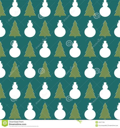 christmas pattern repeat christmas background wrapping paper stock illustration